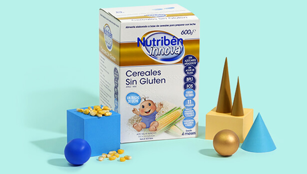 Papilla Nutribén Innova® Cereales Sin Gluten