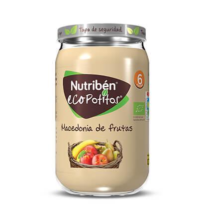 Nutribén Ecopotito Macedonia de frutas