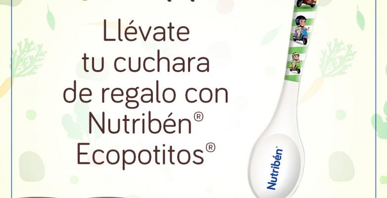 Cuchara de regalo con Nutribén Ecopotitos