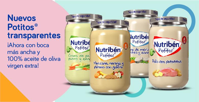 Nuevos potitos Nutribén avanzamos en nuestra apuesta por la innovación