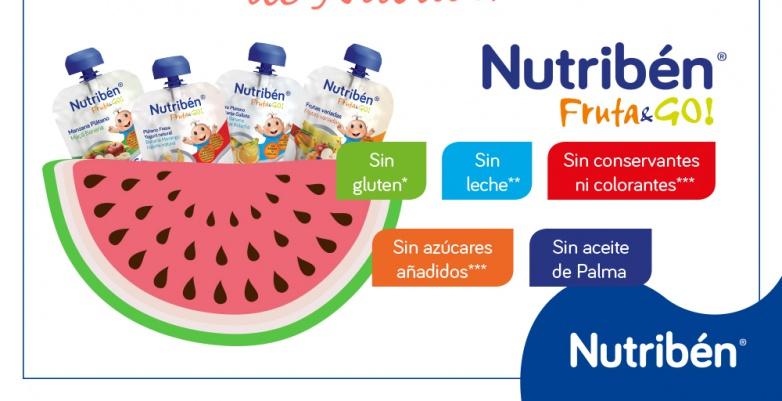 Nuevo lanzamiento Nutribén Fruta & Go