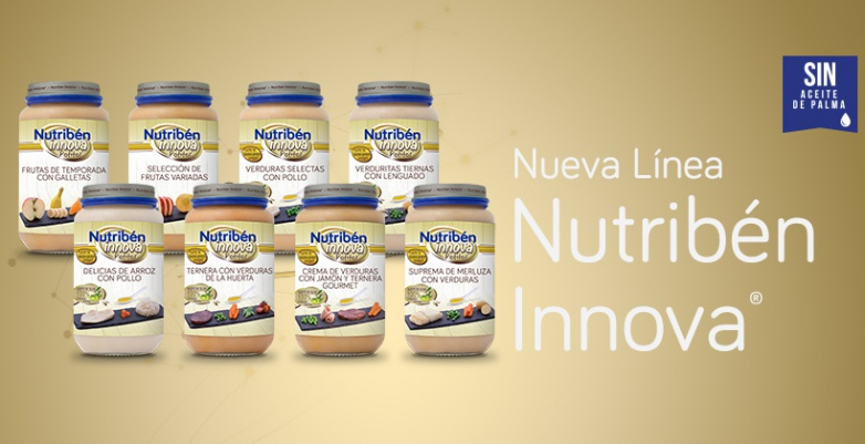 Nutribén lanza sus nuevos potitos Nutribén Innova