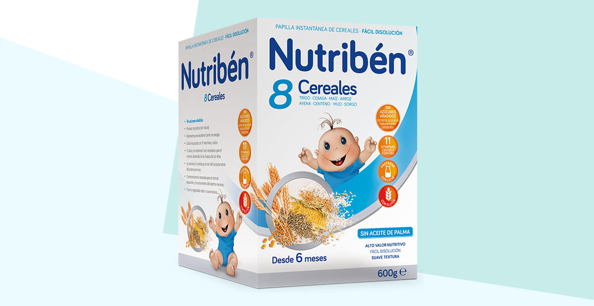 Nutrib/én Papillas Innova 5 Cereales Desde Los 5 Meses 600 g