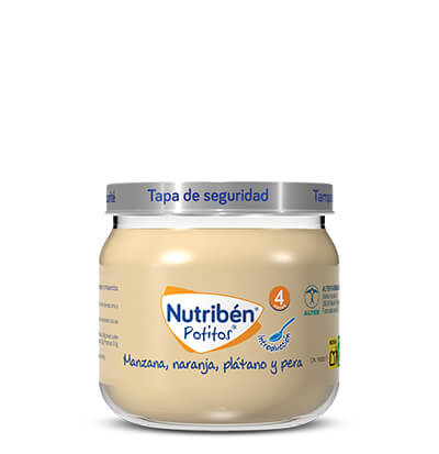 Potitos multifruta Nutribén