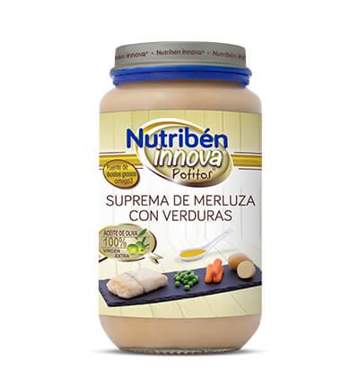 Potito Nutribén Innova Suprema de merluza con Verduras