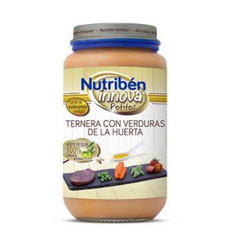 Potito Nutribén Innova Ternera con verduras de la huerta