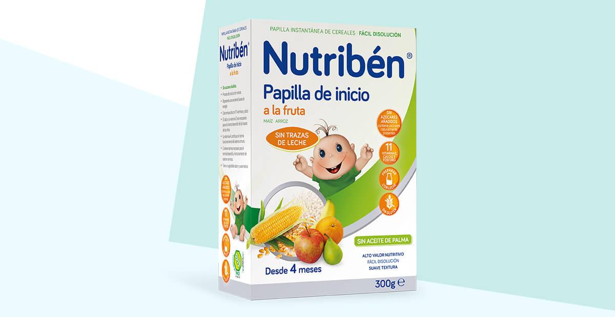 papillas cereales bebe 4 meses
