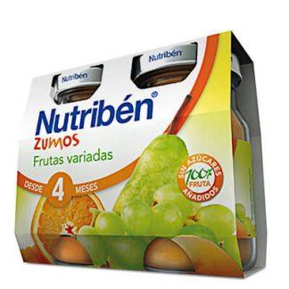 Zumo Frutas variadas Nutribén