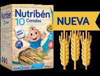 Nueva Papilla 10 cereales.